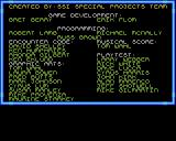 Buck Rogers: Countdown to Doomsday Amiga Credits