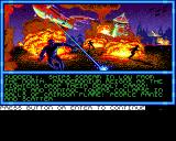 Buck Rogers: Countdown to Doomsday Amiga The NEO base is raided.