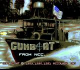 Gunboat TurboGrafx-16 Title screen