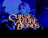 Curse of the Azure Bonds Amiga Title screen #2