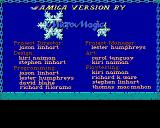Curse of the Azure Bonds Amiga Credits Micro Magic