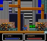 Shockman TurboGrafx-16 The first boss