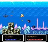 Shockman TurboGrafx-16 Underwater-shooter passage
