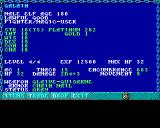 Curse of the Azure Bonds Amiga Character statistics screen