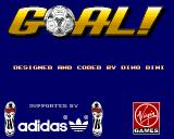 Goal! Amiga Game supported by adidas