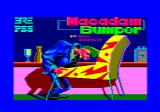 Macadam Bumper Amstrad CPC Title screen
