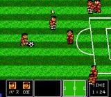 Nintendo World Cup TurboGrafx-16 Attacking