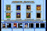 Order of the Griffon TurboGrafx-16 Setting up a party - you can choose from three different characters for every class