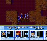 Order of the Griffon TurboGrafx-16 Turn-based combat