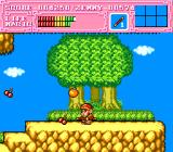 "Son Son II TurboGrafx-16 Collect fruit to gain ""Zenny"" (money)"