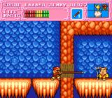 Son Son II TurboGrafx-16 Thanks to the glove item, Son Goku can break this wall