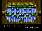StarTropics NES Carefully jump across the water to safety!