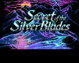 Secret of the Silver Blades Amiga Title screen #3