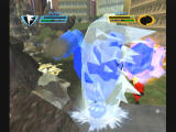 The Incredibles: Rise of the Underminer GameCube Mini-boss frozen, know break him apart!