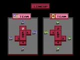 Ice Hockey NES Set up your team