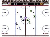 Ice Hockey NES Face off to start the game!