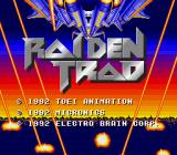 Raiden SNES Title screen