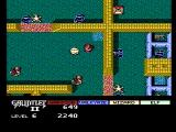 Gauntlet II NES Death on the other side of the walls