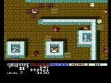 Gauntlet II NES Some tiles make walls disappear