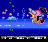 Parodius TurboGrafx-16 The first boss