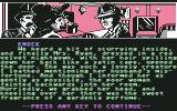 "Sherlock Holmes in ""Another Bow"" Commodore 64 Informing Mrs. Ryan of her husband's death..."