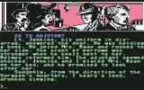 "Sherlock Holmes in ""Another Bow"" Commodore 64 Informing General's adjutant, Lt. Jenkins, of the death..."