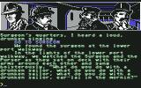 "Sherlock Holmes in ""Another Bow"" Commodore 64 Finding drunken surgeon and Purser..."