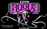 Rogue DOS Title screen
