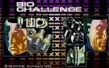 Bio Challenge Atari ST Title Screen