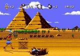 Instruments of Chaos Starring Young Indiana Jones Genesis Using the whip against Egyptian thugs.