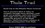 Thule Trail Browser Introduction