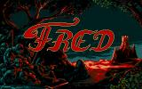 Fred Atari ST Title Screen
