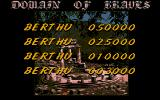 Gem Stone Legend Atari ST High Scores...