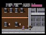 Ninja Gaiden NES The first level
