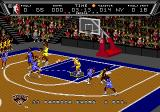 NBA Action '94 Genesis Passing the ball.