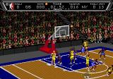 NBA Action '94 Genesis Taking a shot at the basket.