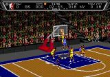 NBA Action '94 Genesis Going in for a dunk.