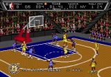NBA Action '94 Genesis At the free throw line