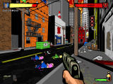 Urban Brawl: Action DooM 2 Windows The city's art style is exceptionally appealing.