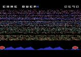 The Eliminator Atari 8-bit I lost my last life. Game over.
