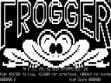Frogger TRS-80 Title screen 2