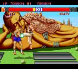 Street Fighter II: Champion Edition TurboGrafx-16 Ryu finishes off Sagat with a Hurricane Kick