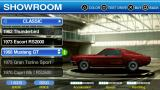 Ford Bold Moves Street Racing PSP You can view obtained cars in the showroom.
