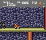 Tiger Road TurboGrafx-16 Attacking with a sword