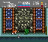 Tiger Road TurboGrafx-16 The first boss