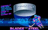 Blades of Steel Amiga Title screen