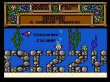 Quattro Adventure NES Title screen (Treasure Island Dizzy)