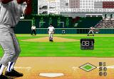 World Series Baseball '95 Genesis Speed of the pitch.