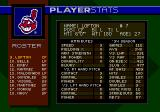 World Series Baseball '95 Genesis A player's attributes