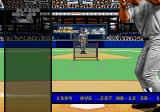World Series Baseball '95 Genesis At bat during the home run derby